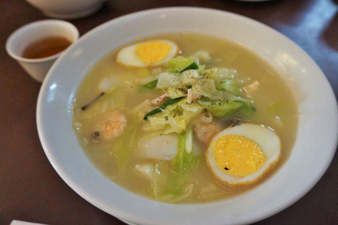 ヘルシーな麺料理、太平燕