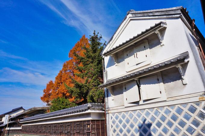 東海道にずらりと並ぶ絞り問屋と町家の数々