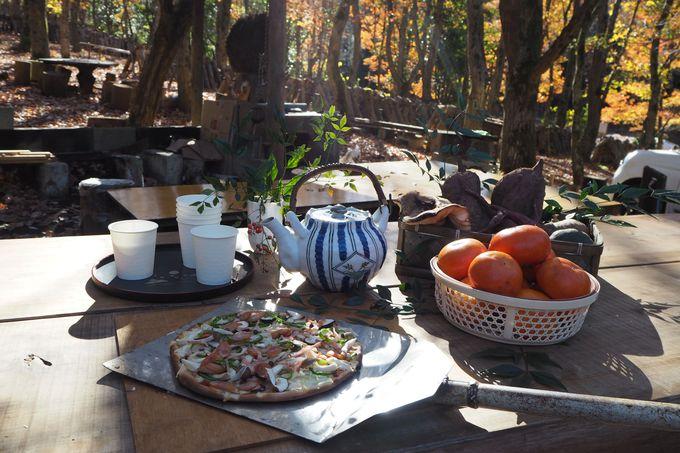 韮山産小麦で石窯ピザ作り