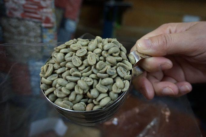 コーヒーの焙煎体験