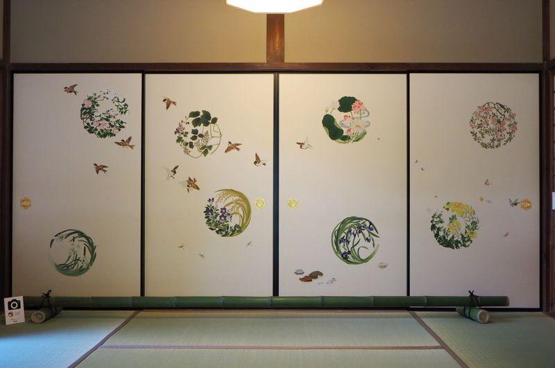 SNSもOK!美しい襖絵を間近で堪能できる京都「妙心寺大雄院」へ