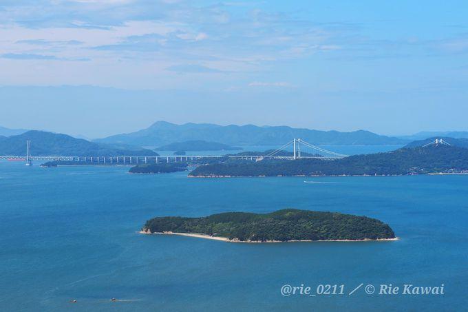 瀬戸内海に浮かぶ無人島「くじら島」を貸し切ってキャンプができる
