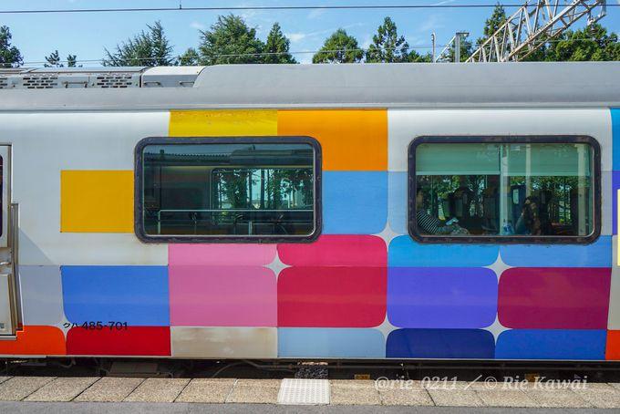 車窓には日本海!観光列車「きらきらうえつ号」
