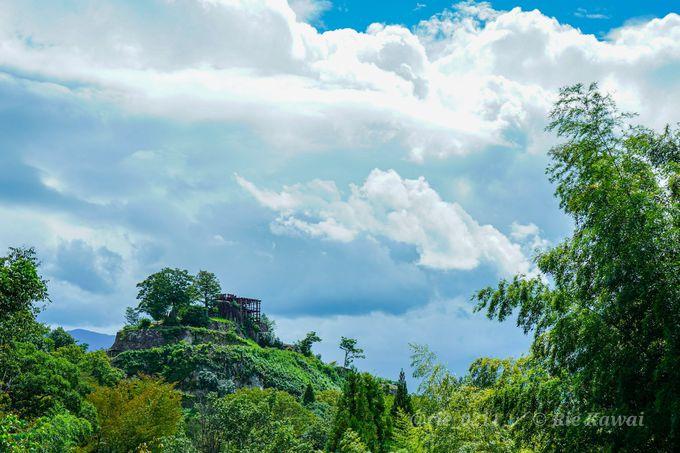 絶景の山城ランキング1位に選ばれた「苗木城」
