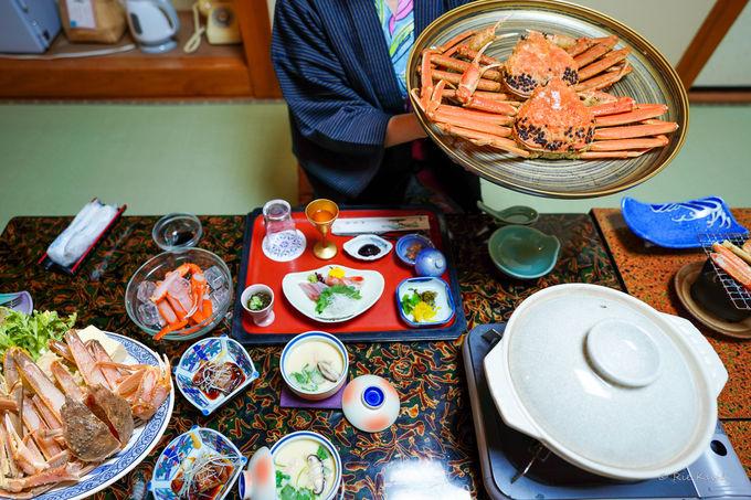 新鮮な海の幸たっぷりの夕食&朝食は国登録有形文化財で