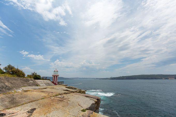 シドニー・ハーバーの東の玄関口「ホーンビー灯台」に到着