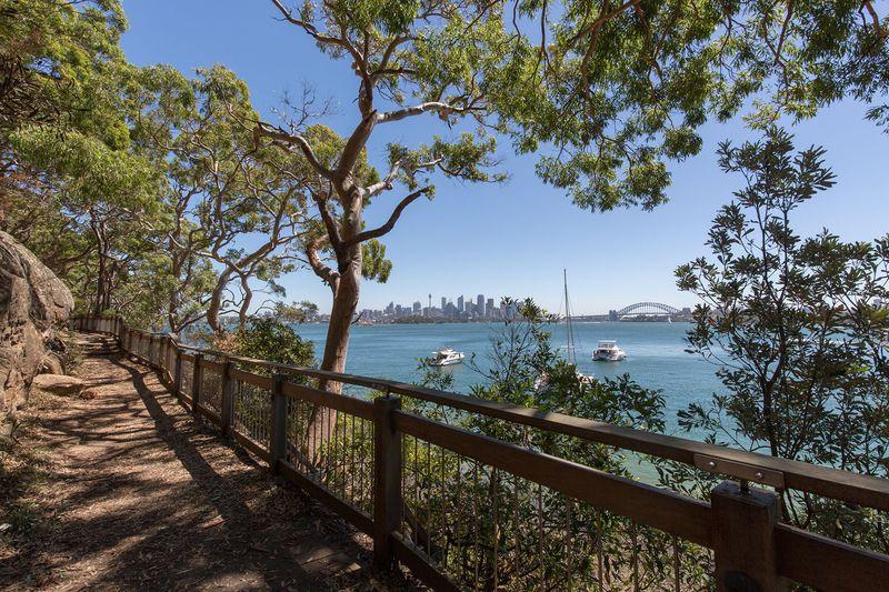 大自然からシドニー・シティを眺めるタロンガの絶景トレイル
