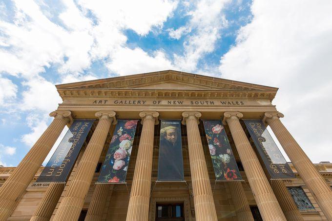 オーストラリア最大規模の美術館