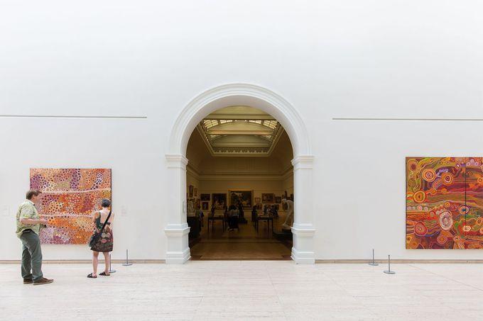 オーストラリア最大のアボリジナル・アート・コレクション