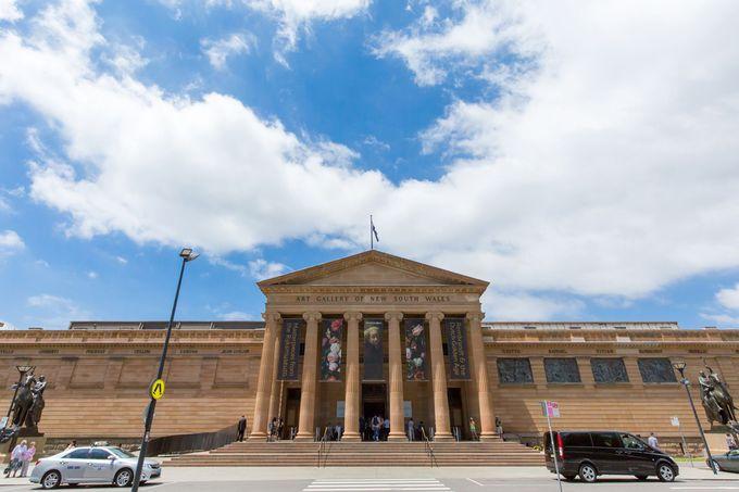 ニュー・サウス・ウェールズ州立美術館(Art Gallery of New South Wales)