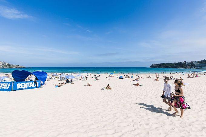 ローカルに大人気のボンダイ・ビーチ(Bondi Beach)