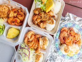 ハワイ・オアフ島ノースショアでガーリックシュリンプを食べ比べ!