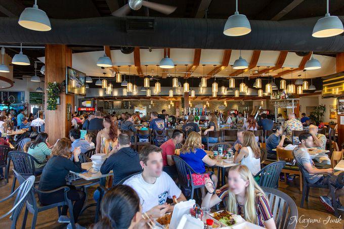 埠頭沿いのレストラン「Nico's Pier 38(ニコス・ピア 38)」