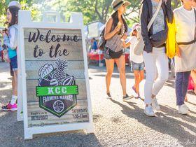 土曜の朝はハワイ最大級のマーケット「KCCファーマーズマーケット」へ