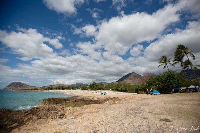 オアフ島西海岸にある穴場ビーチ「ナナクリ」