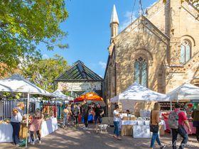 週末はシドニー最大級の「パディントン・マーケット」へ