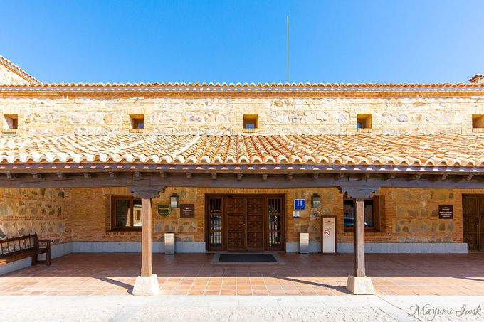 トレド旧市街が一望できる「パラドール・デ・トレド」