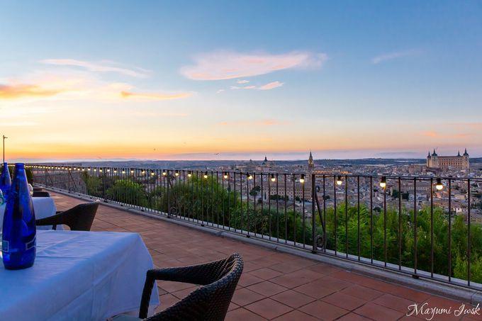 素晴らしい眺望のレストラン