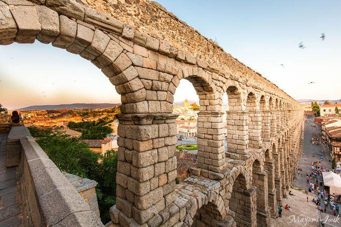 ダイナミックさに圧倒されるローマ時代の「水道橋」