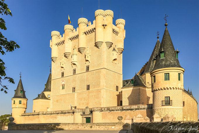 白雪姫城のモデルになった古城「アルカサル」