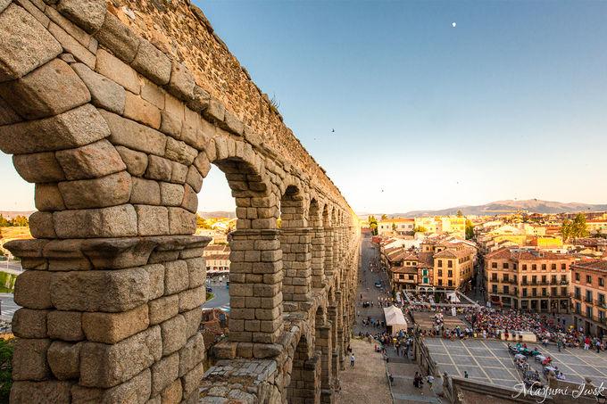 世界遺産の街「セゴビア旧市街」