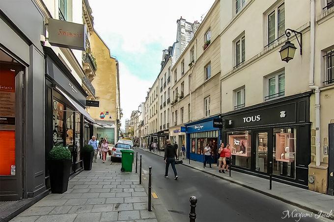 パリ有数のオシャレエリア「Le Marais(マレ地区)」