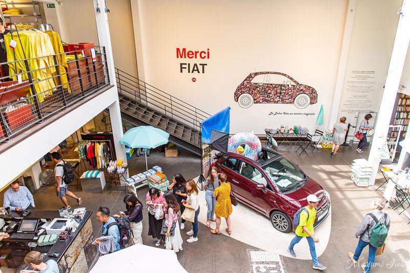 パリ「マレ地区」にあるコンセプトショップ「メルシー」