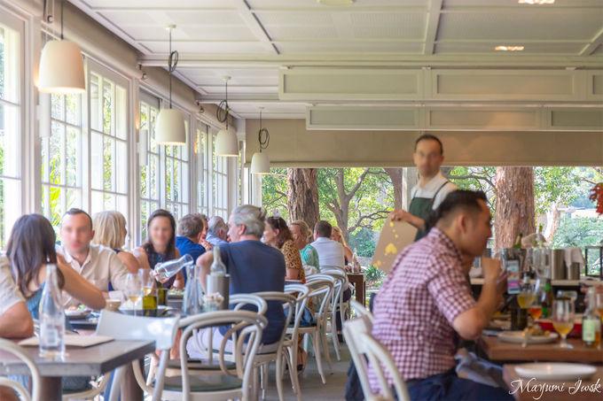 シドニーの四季を感じるレストラン