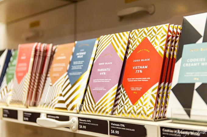 100種類以上ある美しいチョコレート