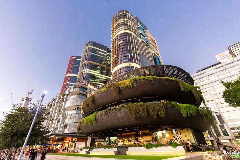 シドニーの注目エリアにあるレストランビル「バランガルー・ハウス」