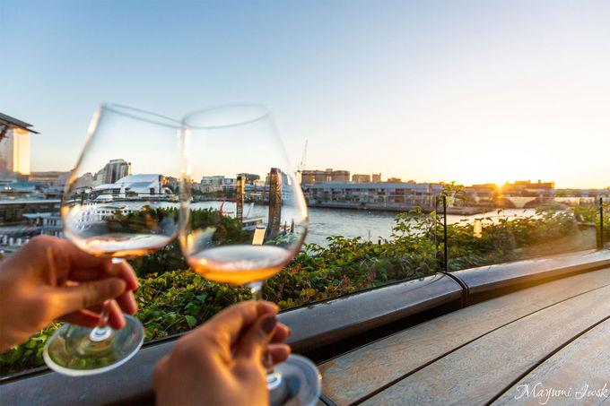 シドニーの夕日と夜景が楽しめる絶景バー