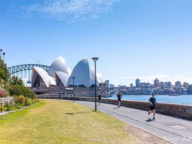 シドニーハーバー沿いの絶景を楽しむランニングコース