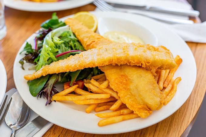 オーストラリアのB級グルメ「フィッシュ&チップス」