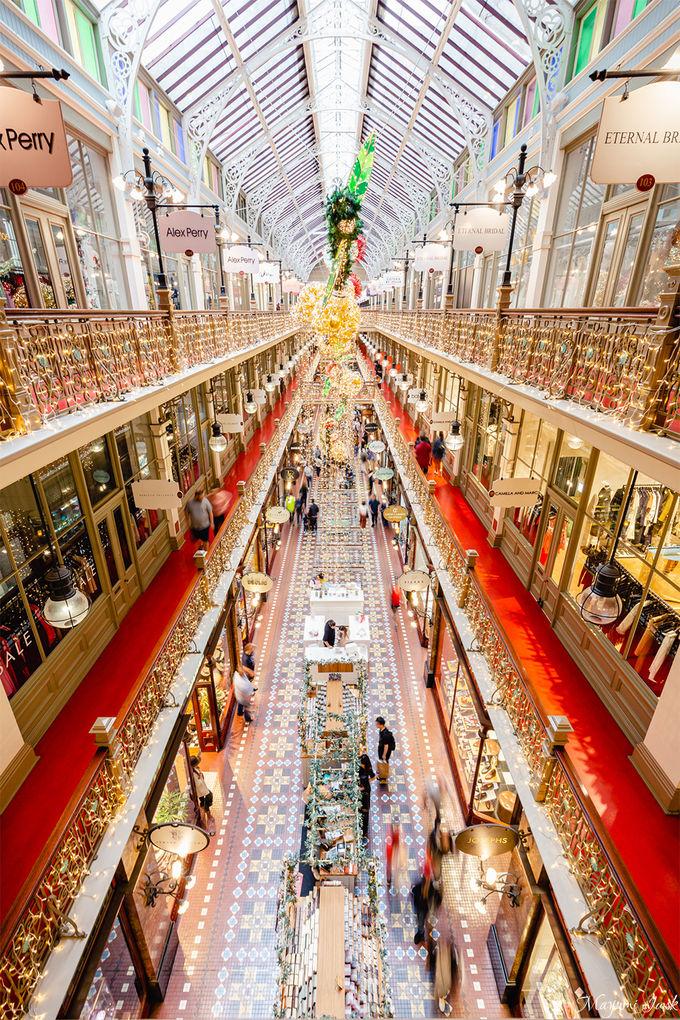 2.シドニー最古のショッピングアーケード「ストランド・アーケード」
