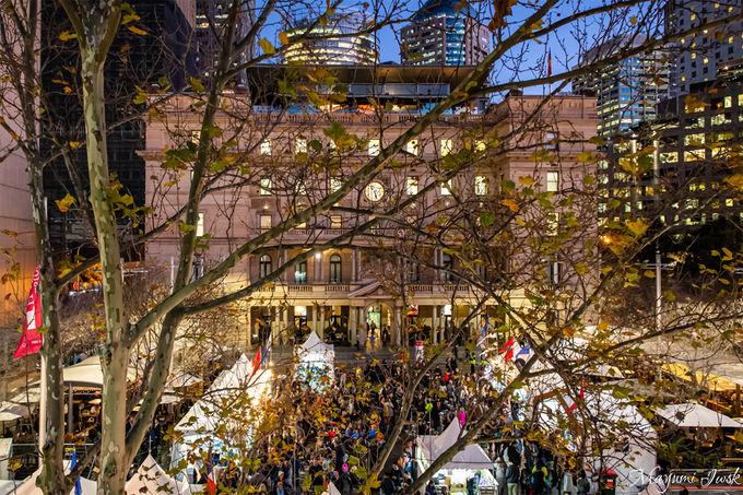 4.シドニーの玄関口にあるクリスマスツリー「カスタムズ・ハウス」