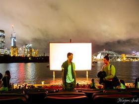シドニー湾と映画が楽しめる「ウェストパック・オープンエア(Westpack OpenAir)」
