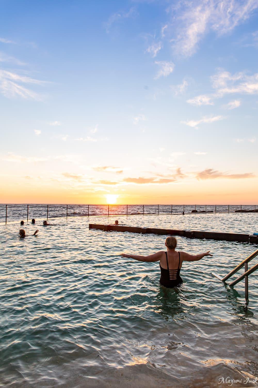 3.美しい朝日がフォトジェニックな「ブロンテ・ビーチ」