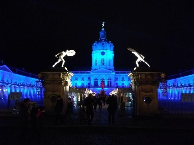 シャルロッテンブルク宮殿のクリスマスマーケット