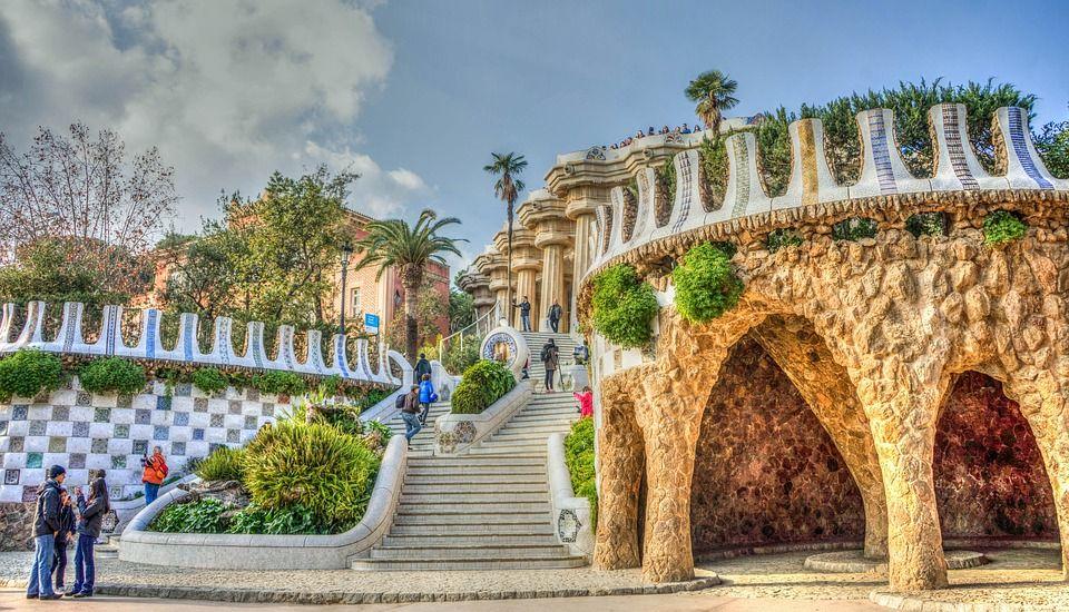 バルセロナの展望スポット、グエル公園