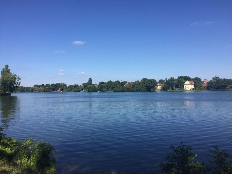 庶民の憩い場、ハイリガー湖