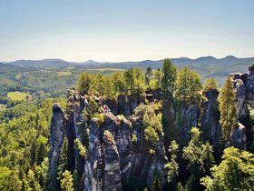 ドレスデンから電車で40分!ドイツの絶景スポット「ザクセン・スイス国立公園」