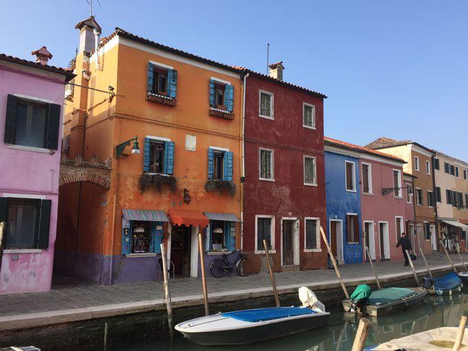 半日観光に最適「ブラーノ島」