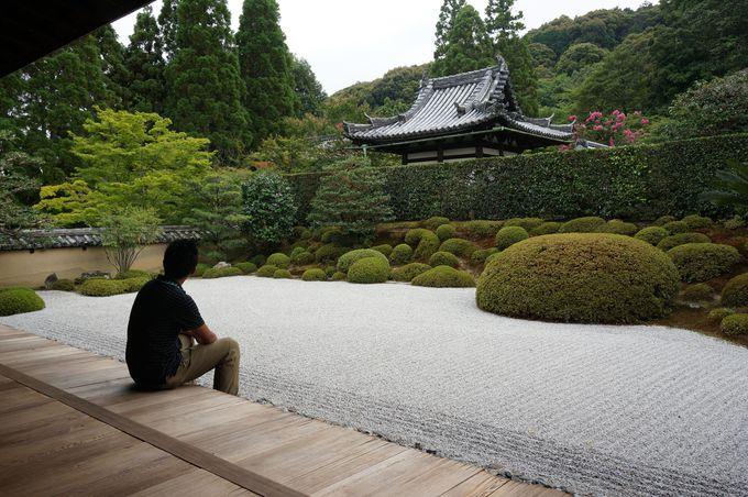 方丈庭園にて禅を体感しよう。