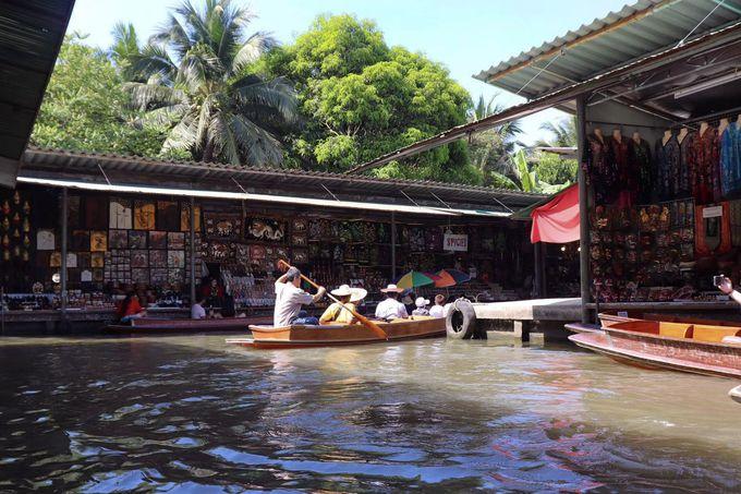 水の都バンコク!水上マーケットでローカルな風景を楽しもう!