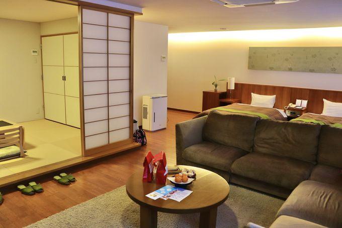 滞在スタイルに合わせて選べる豊富な客室!