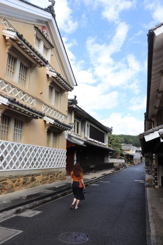 江戸時代にタイムスリップ!?美しい内子町の町並み