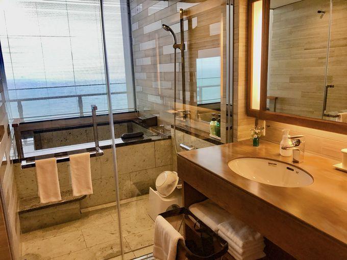 贅沢な全室絶景オーシャンビューの温泉展望風呂付客室!