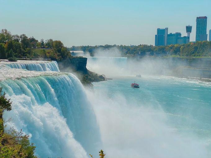 あの有名なナイアガラの滝ってどんな滝!?