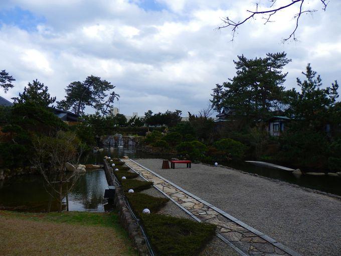 美しい日本庭園も見逃せない