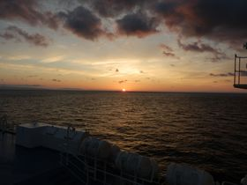 朝日美しい日本海に癒される!舞鶴〜小樽 新日本海フェリーの旅